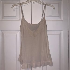 American Eagle Cream Tank Top